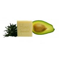Avocado si rozmarin - sampon solid cu ulei de moringa