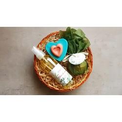 Cadou - ulei de corp+sapun vegetal