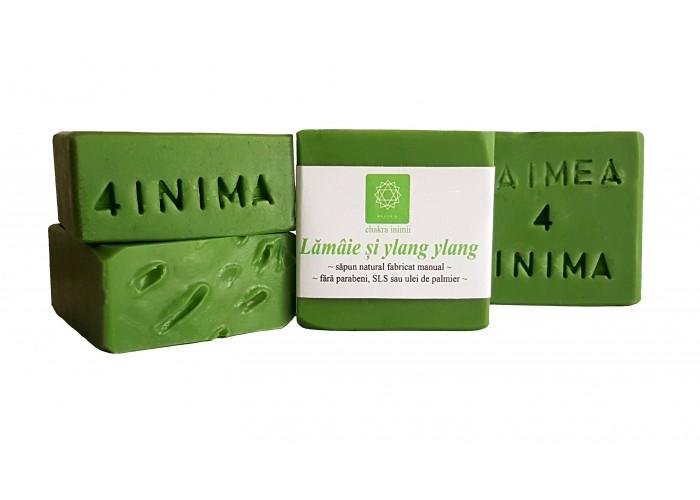 Lamaie si ylang ylang - sapun natural cu ulei de enotera si canepa