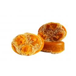 LuffaSpa - sapun exfoliant cu burete vegetal