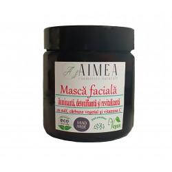 Masca faciala -  SULF ȘI CĂRBUNE - ten acneic, ten gras, rozacee, cuperoză