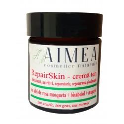 RepairSkin - crema organică reparatoare și calmantă - ten acneic, ten gras