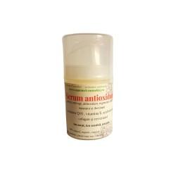 Serum antioxidanti, antirid, antiage - vitamina E, coenzima Q10 si acid hialuronic