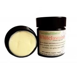WhiteJasmine - cremă organică cu acid hialuronic și coenzima Q10