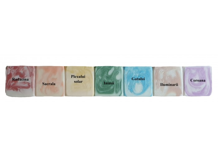 Colectia CHAKRAS - sapunuri cu uleiuri pentru chakre