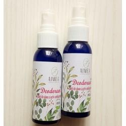 Deodorant spray - piatra de alaun si active cosmetice